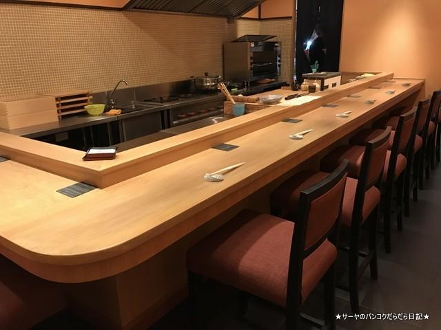 さぶ 貝 和食 カウンター バンコク (4)