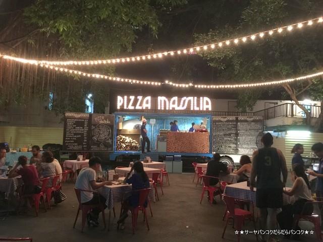 Pizza Massilia ピザ バンコク シーロム