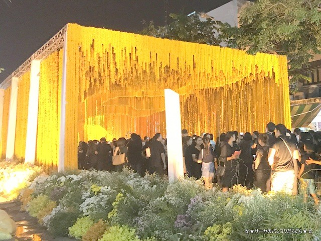 Floral display for King Bhumibol at the Flower Market (5)