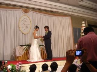 20091122 甲斐さん結婚式 1