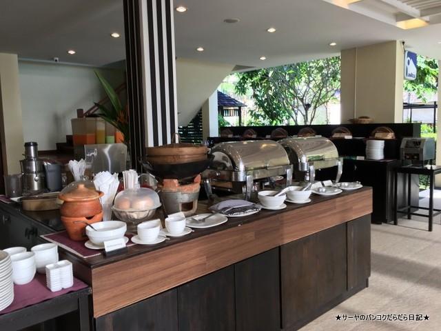 クラビ タイ Krabi 秘境 ホテル 朝食 (5)