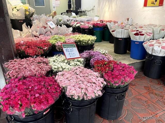 パーク クローン花市場 バンコク flower market (3)
