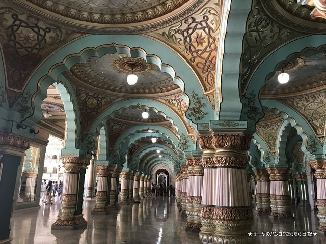 Mysore Palace マイソールパレス マイスール 南インド (26)