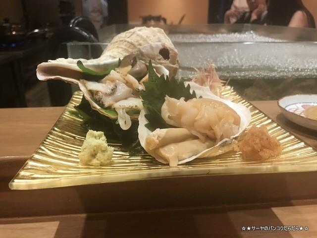 さぶ 貝 蟹 バンコク 会席 和食 レストラン 接待 (15)