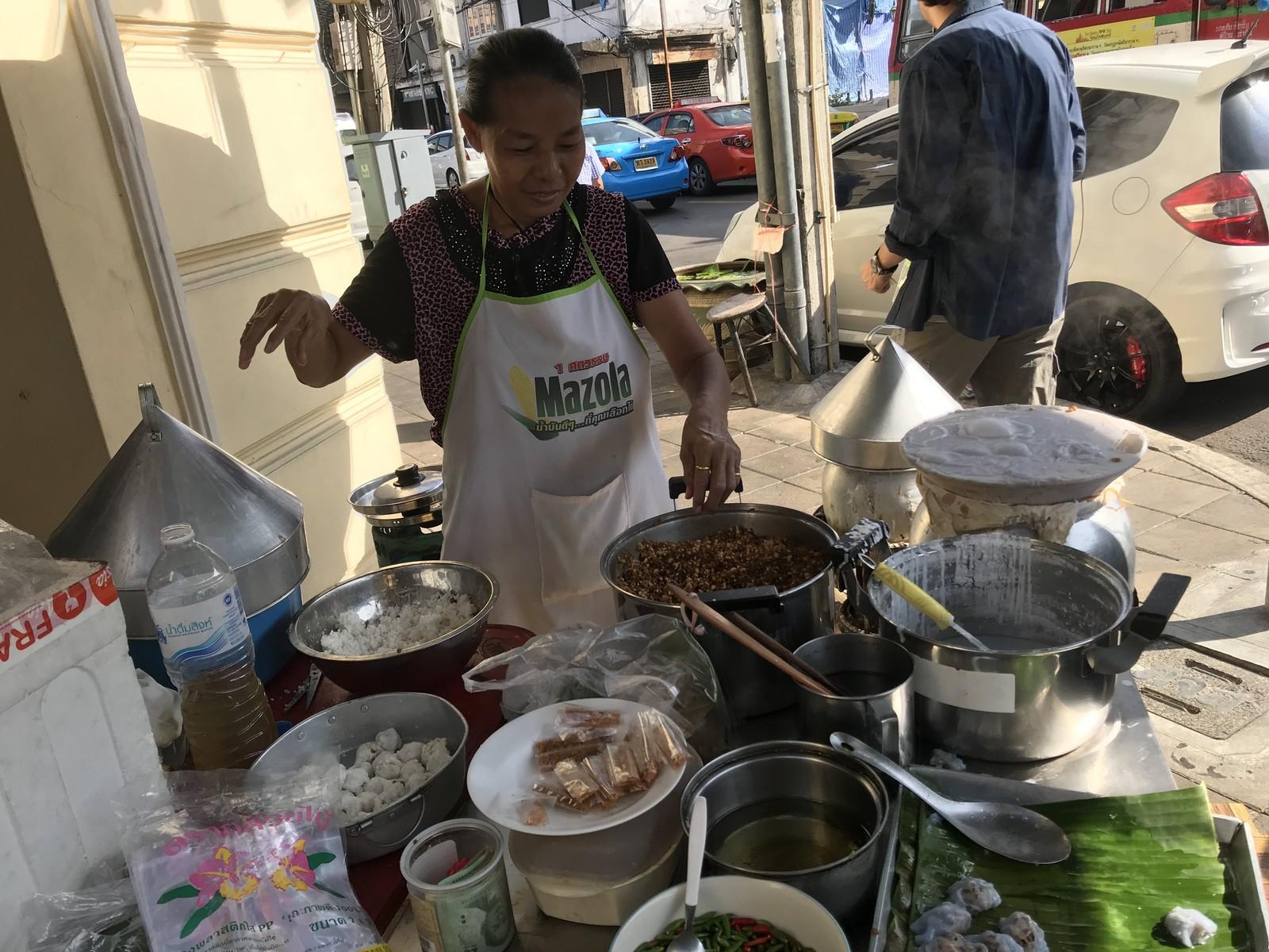 カオクリアップ パークモー タイ菓子 日曜 OLDCITY (19)