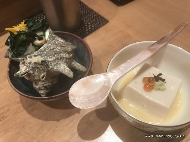 さぶ 貝 蟹 バンコク 会席 和食 レストラン 接待 (3)