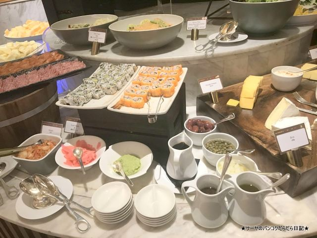 Conrad Bangkok コンラッド バンコク ホテル 朝食 (3)
