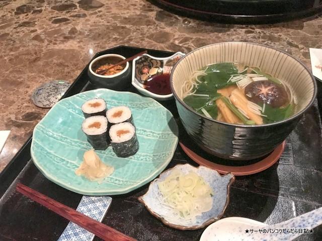 Bangkok Okura Yamazato 高級 和食 バンコク (16)