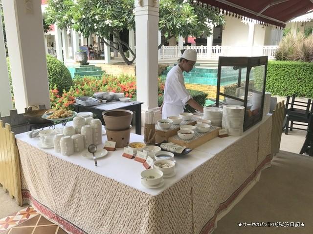 朝ご飯 ウォラブラ Wora Bura Hua Hin Resort ホアヒン  (1)