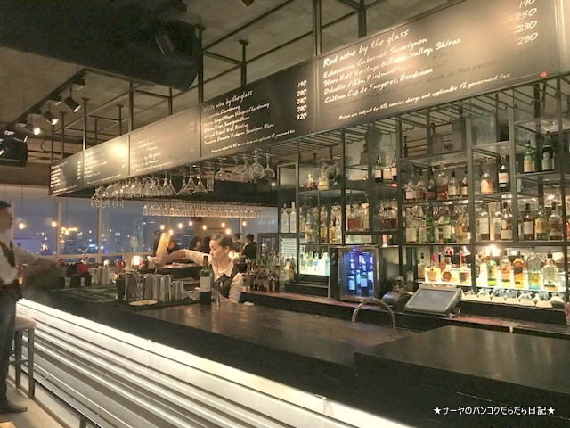 Scarlett Wine Bar bar counter おすすめ シーロム 2018