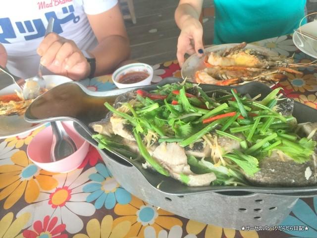 Phae Lung Chao シンブリ 海老 タイ 超美味しい