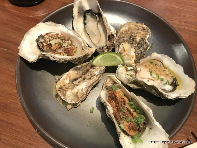 原始焼き genshiyaki バンコク 日本料理 和食 焼き牡蠣