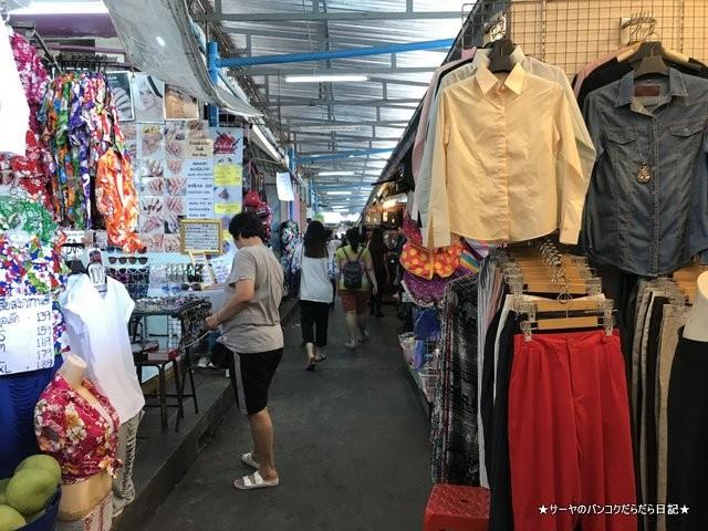 Klongsan Plaza バンコク ローカル 市場 トンブリー (10)