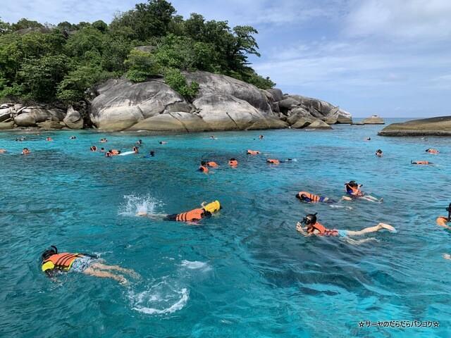 プーケット シミラン諸島ツアー タイ国内旅行 (10)