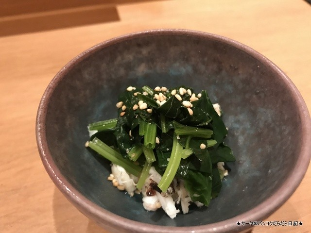 さぶ 貝 和食 カウンター バンコク (7)