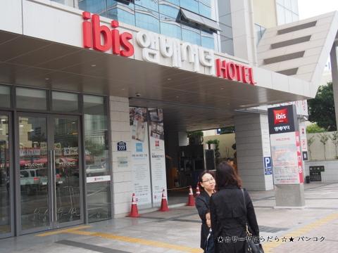 IBIS HOTEL BUSAN 釜山 イビス