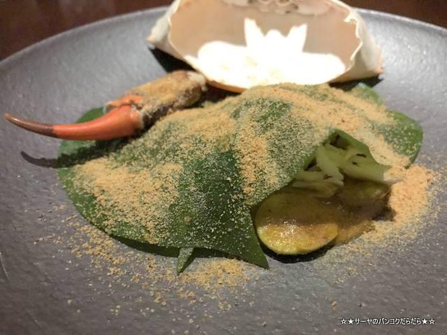 SAAWAAN Michelin 2019 タイ料理 バンコク 蟹 (3)