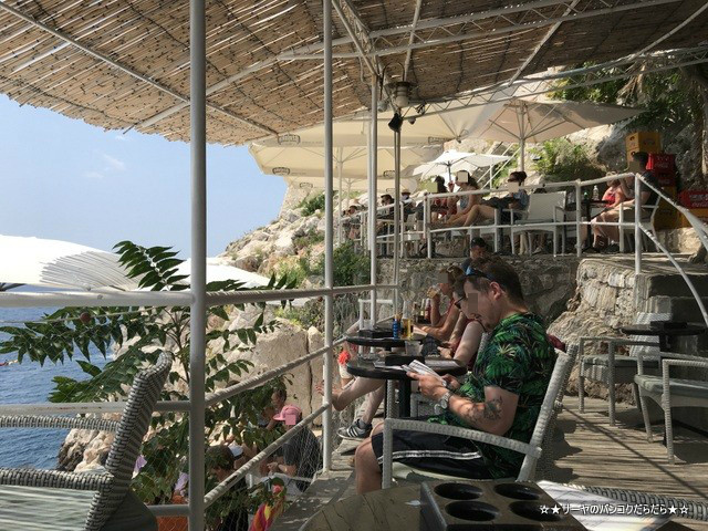 Buza Bar ドゥブロヴニク 海沿い Bar クロアチア アドリア