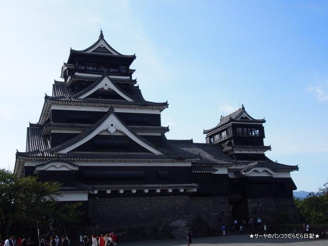 熊本城 Kumamoto Castle 馬刺 サーヤ
