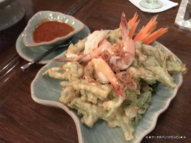 Baan Khanitha  Gallery バーンカニタ  バンコク タイ料理 空心菜