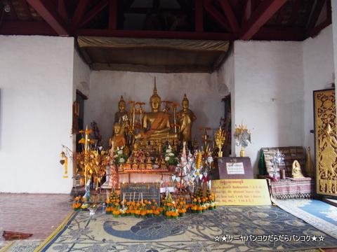 Wat Tham Phou Si ワット プーシー 夕陽 ルアンパバーン