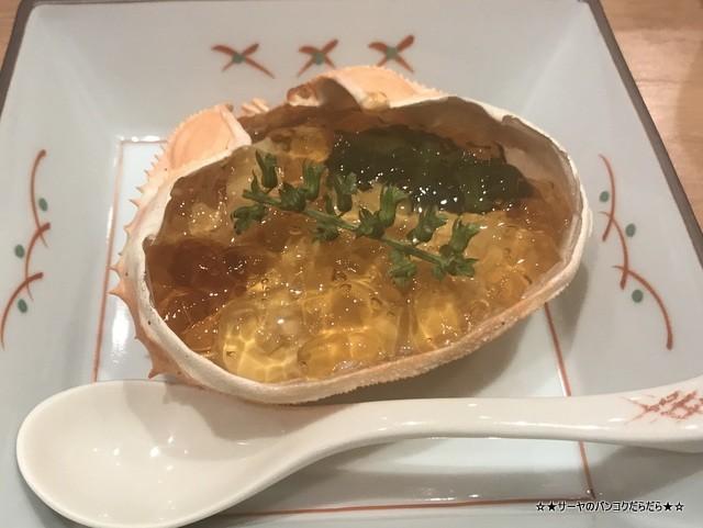 さぶ 貝 蟹 バンコク 会席 和食 レストラン 接待 (8)