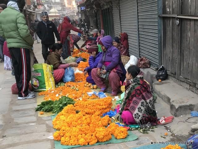 インドラチョーク アサンチョーク 朝市 ネパール カトマンズ (7)