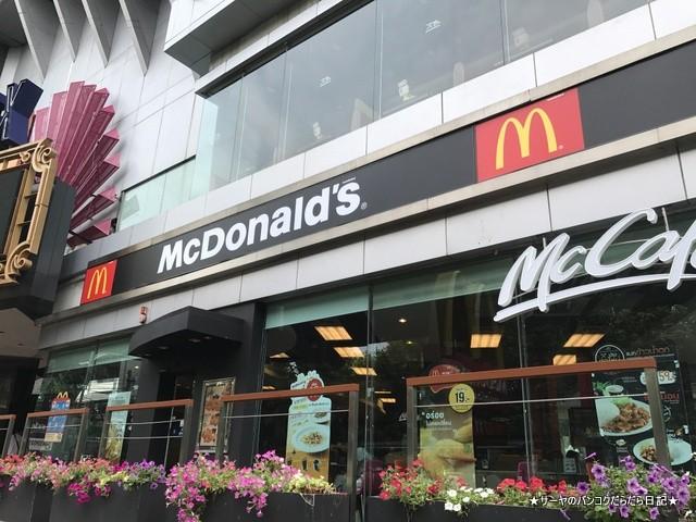 BKK MC マクドナルド 粥 オモシロ (2)