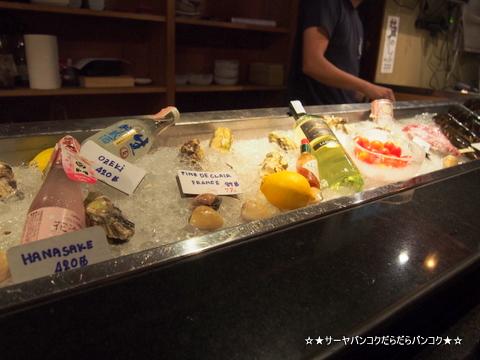 酒の店 バンコク 牡蠣 オイスター