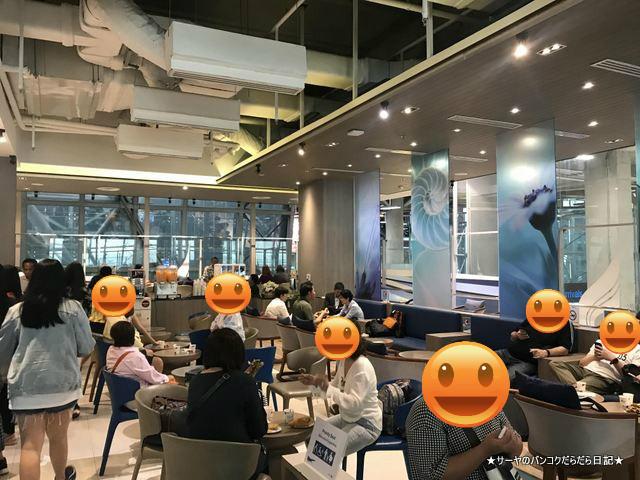 バンコク・エアウェイズ PG 993 bangkok airways lounge