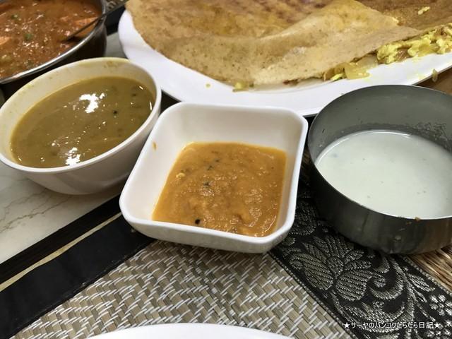 royal dosa プラトゥナム インド料理 バンコク チーズドーサ