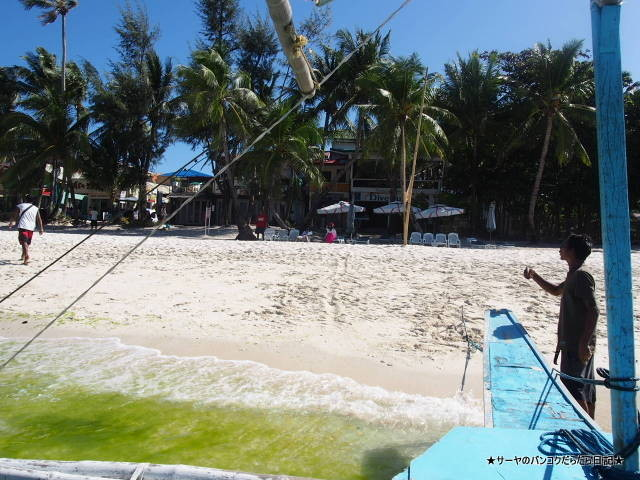 ボラカイ島周辺の海 Boracay Philippine フィリピン