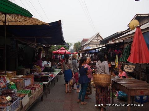 朝市(Morning Market Street) ルアンパバーン