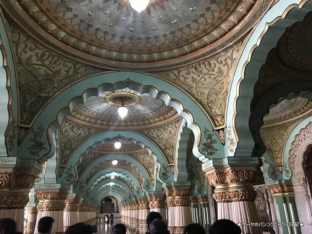 Mysore Palace マイソールパレス マイスール 南インド (25)