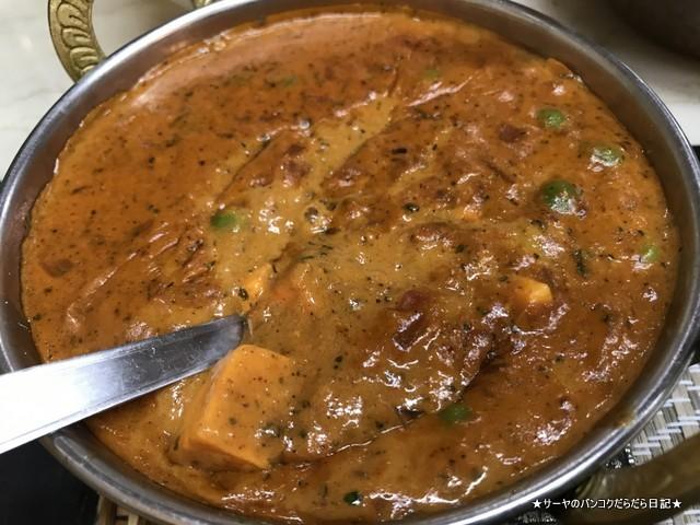 royal dosa プラトゥナム インド料理 バンコク チーズカレー