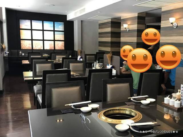 ginzado bangkok 銀座堂 焼肉 高級 接待 2階席