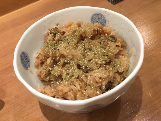 かにとあさりの炊き込みご飯 さぶ 日本 バンコク 和食
