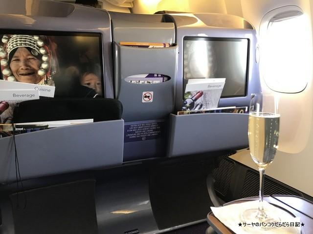タイ航空 ビジネス インド料理 ネパール (1)