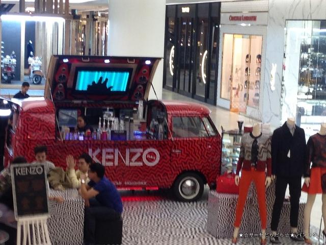 KENZO cafe セントラル エンバシー バンコク サーヤ