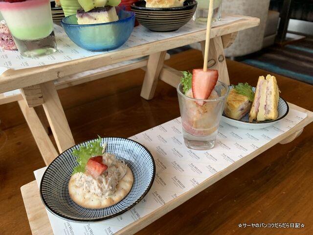 ミックスベリーハイティー  HIGH TEA Westin bangkok (6)