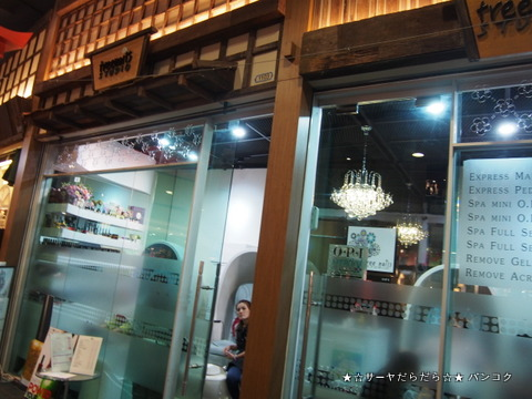 tree nail studio  asoke terminal 21 サーヤ バンコク