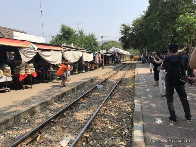 THAMKRA SAE カンチャナブリ 電車 ツアー 戦場にかける橋 (3)