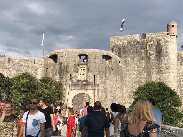 ドゥブロヴニククロアチア 景色 世界遺産 (2)