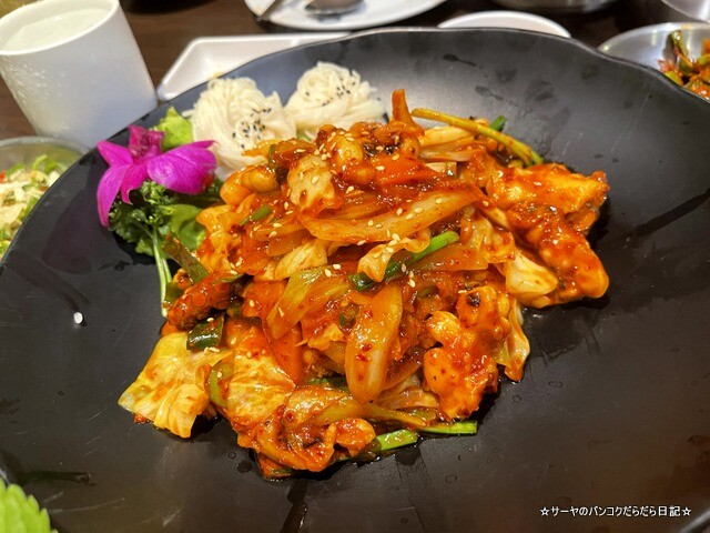 Dong E ドンイー 韓国料理 バンコク Korean Town (6)