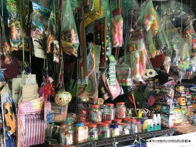 プラカノン市場 バンコク 雑貨屋 おもちゃ