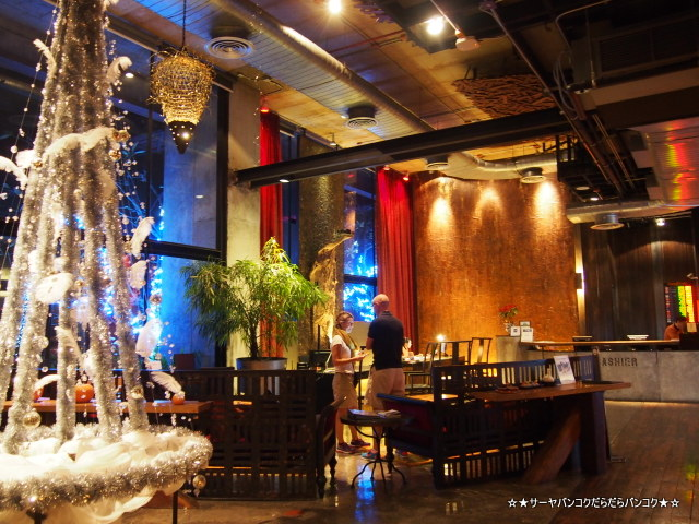 The Roof Restaurant Siam@Siam バンコク サーヤ