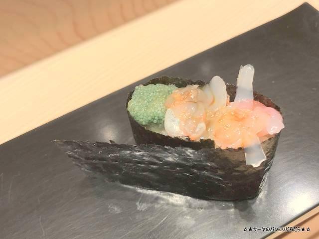 masazushi bkk takashimaya ボタン海老 卵 味噌