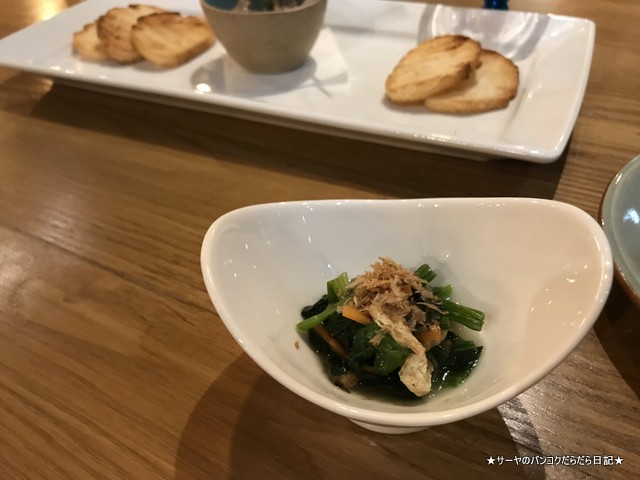 kuriyaroku bangkok 最新和食 バンコク お通し