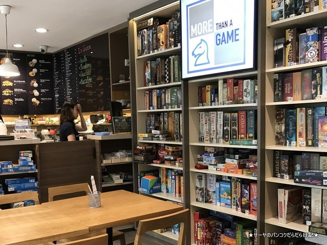 more than game cafe thonglor カフェ Bangkok バンコク (6)
