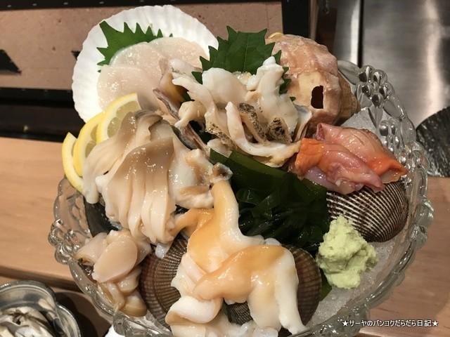 さぶ 貝 和食 カウンター バンコク (14)